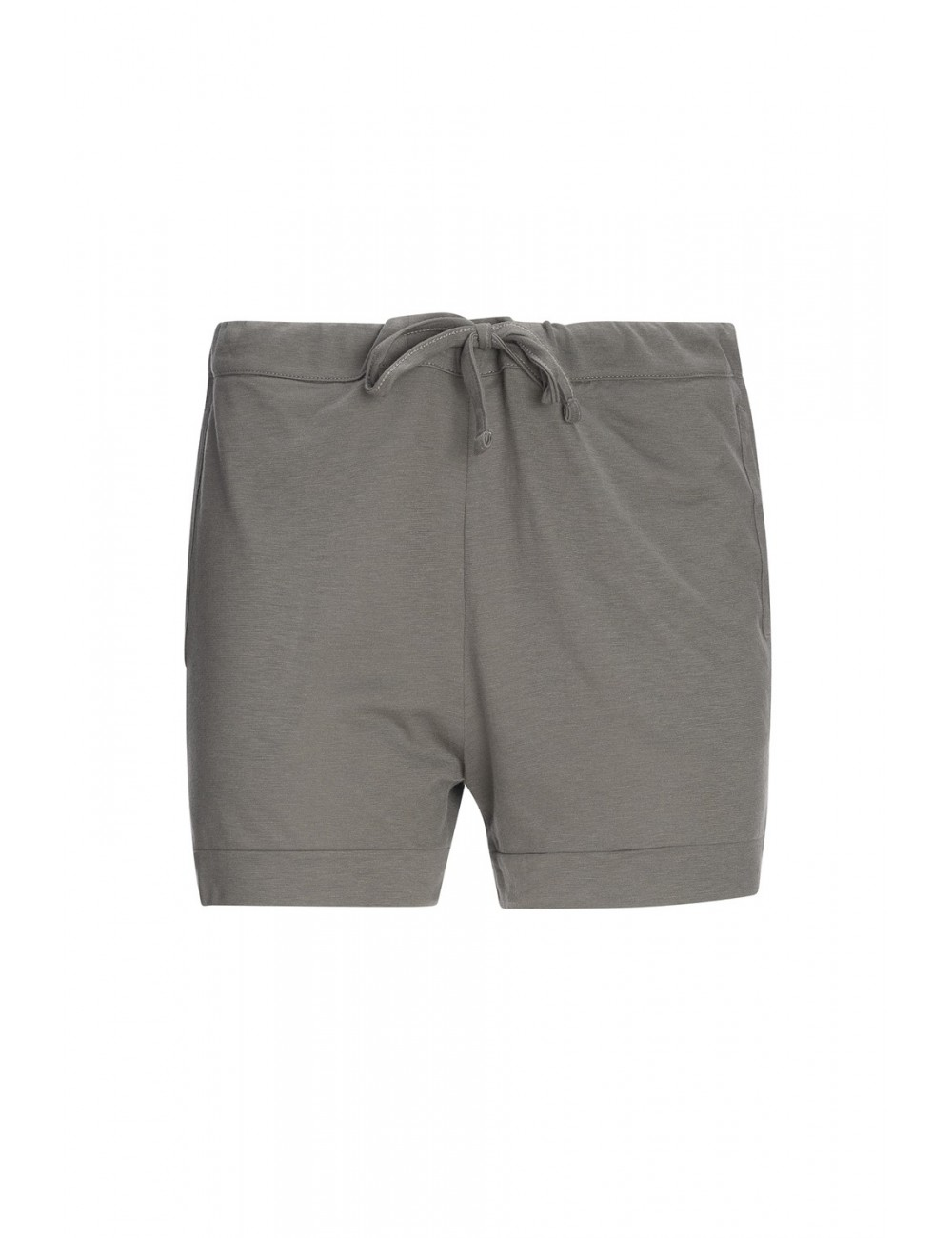 back-label-Drawstring Shorts