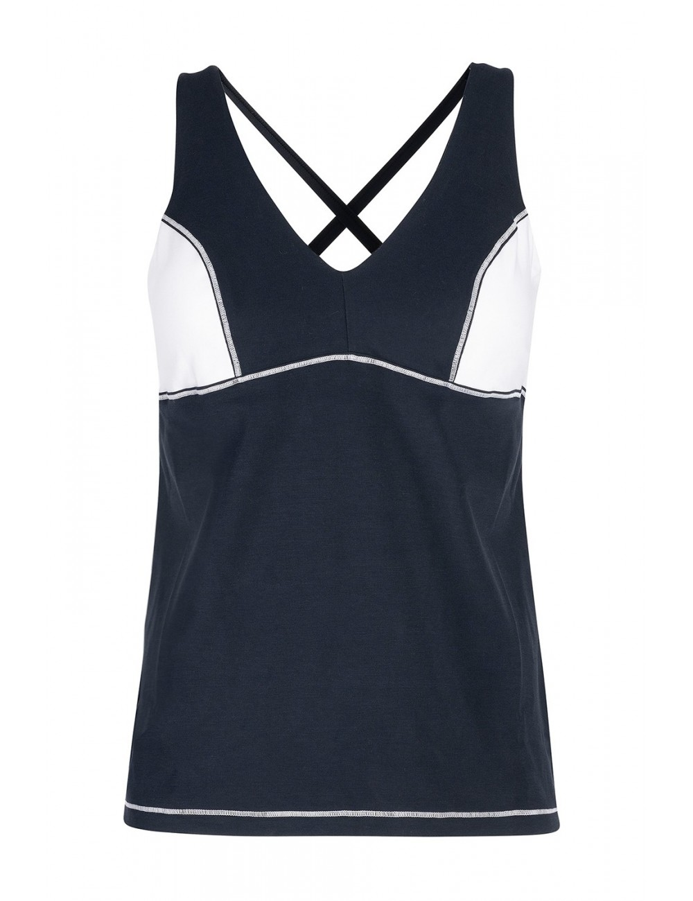 !Cropped Camisole - Performance Cotton