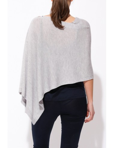 Organic Cotton Mini Poncho