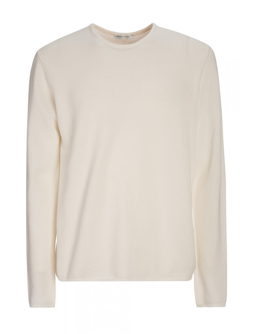 Man Organic Cotton Round Neck Pullover